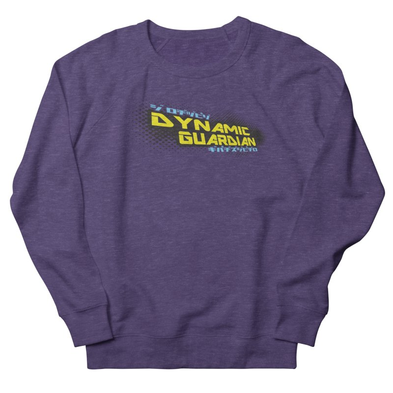 Dynamic Guardian Logo Men's French Terry Sweatshirt by The Official Bustillo Publishing Shop