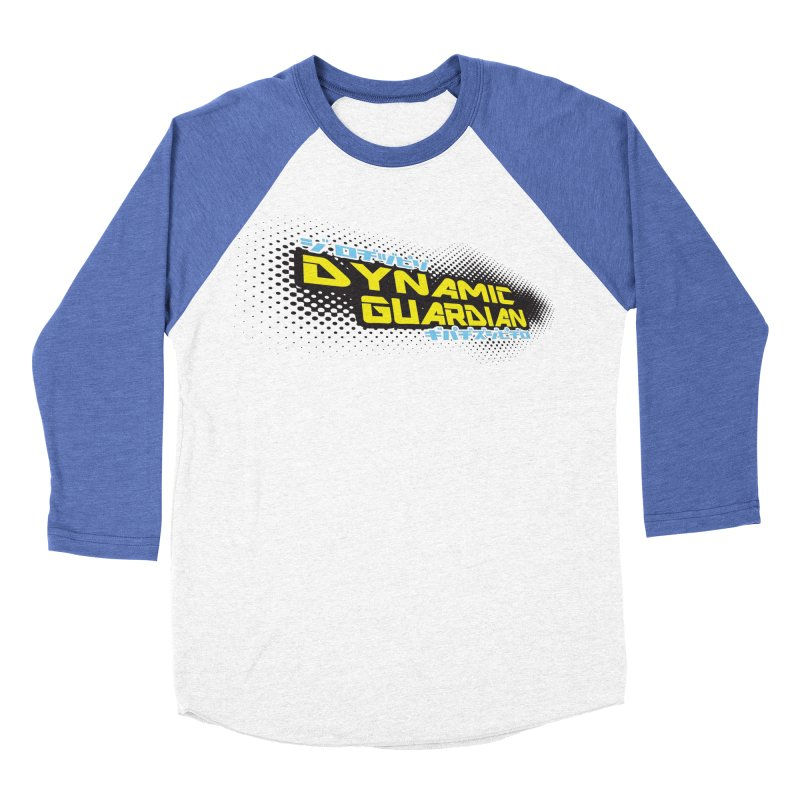 Dynamic Guardian Logo Men's Baseball Triblend Longsleeve T-Shirt by The Official Bustillo Publishing Shop