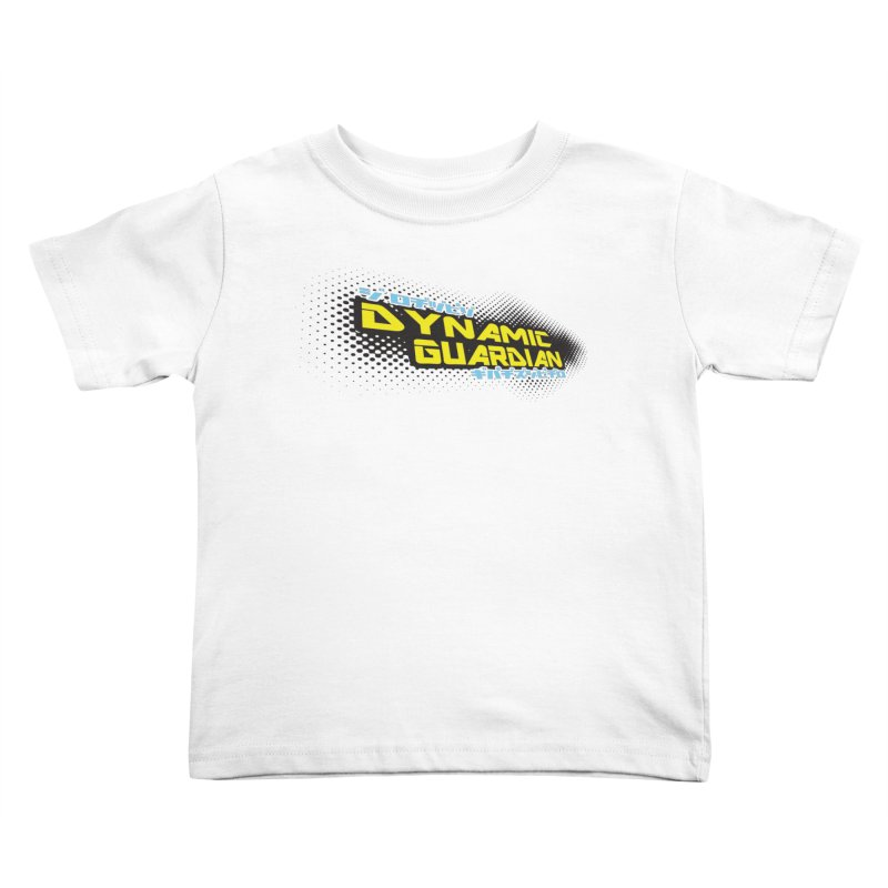 Dynamic Guardian Logo Kids Toddler T-Shirt by The Official Bustillo Publishing Shop