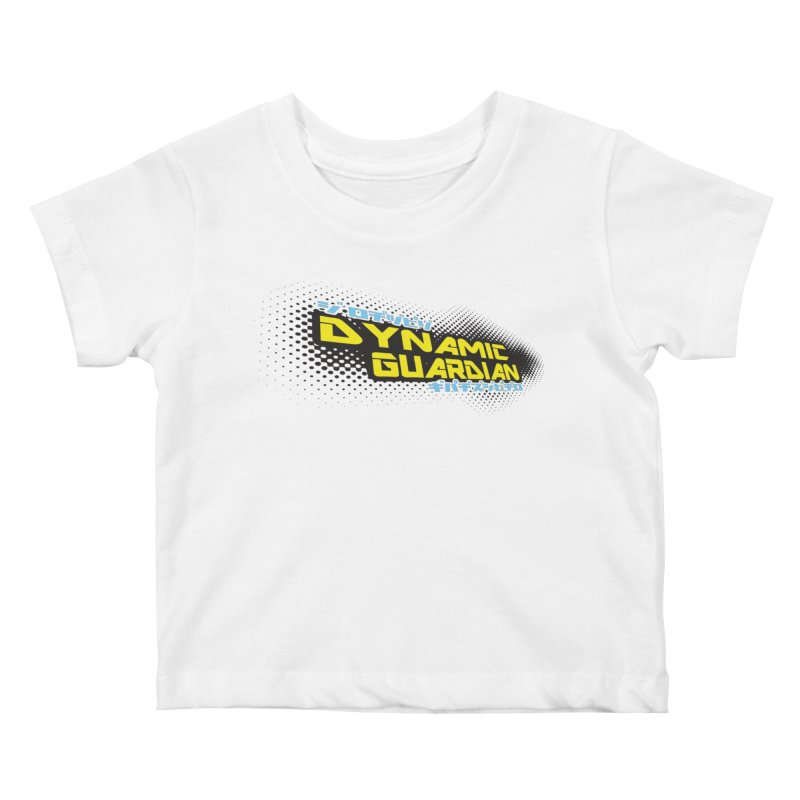 Dynamic Guardian Logo Kids Baby T-Shirt by The Official Bustillo Publishing Shop