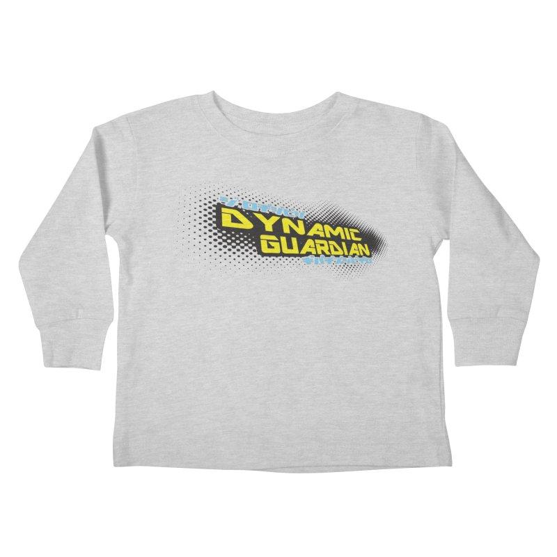 Dynamic Guardian Logo Kids Toddler Longsleeve T-Shirt by The Official Bustillo Publishing Shop