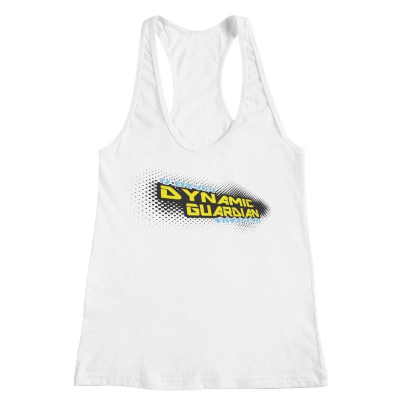 Dynamic Guardian Logo Women's Racerback Tank by The Official Bustillo Publishing Shop