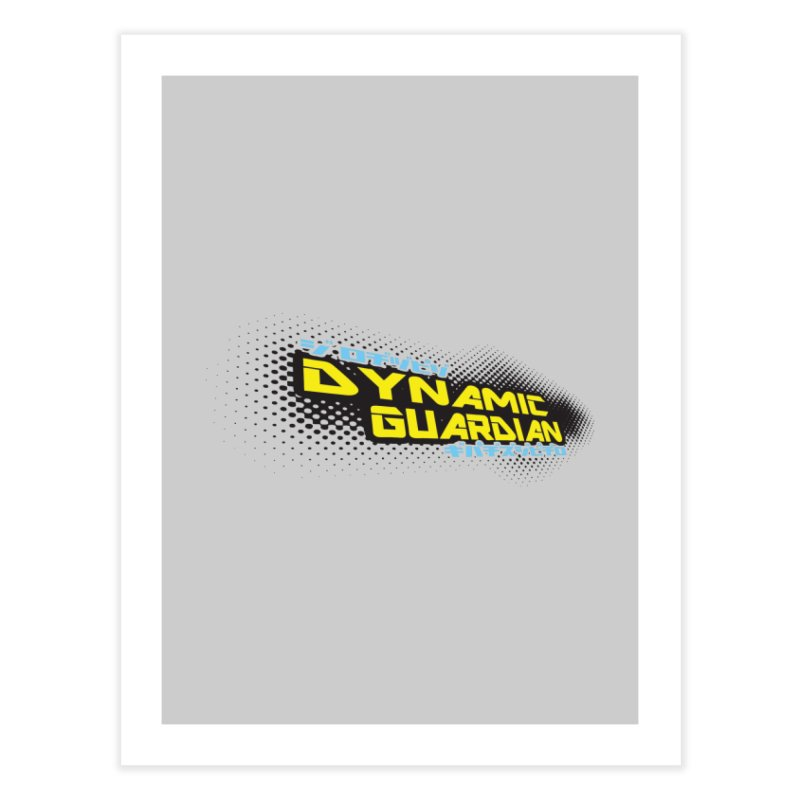 Dynamic Guardian Logo Home Fine Art Print by The Official Bustillo Publishing Shop