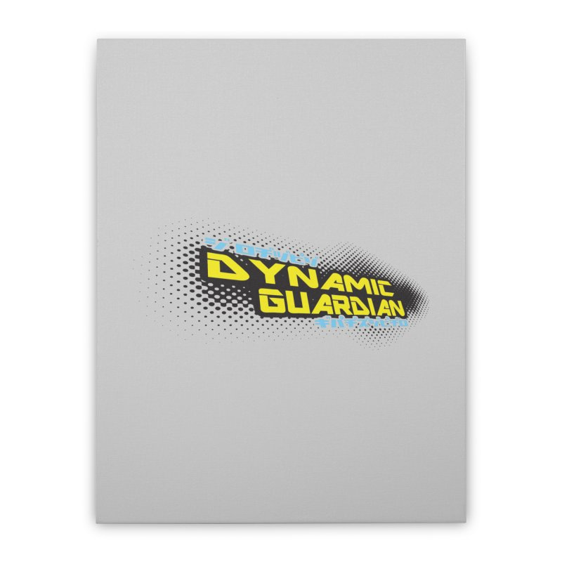 Dynamic Guardian Logo Home Stretched Canvas by The Official Bustillo Publishing Shop