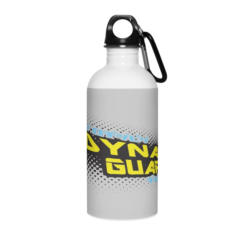 Dynamic Guardian Logo Accessories Water Bottle by The Official Bustillo Publishing Shop