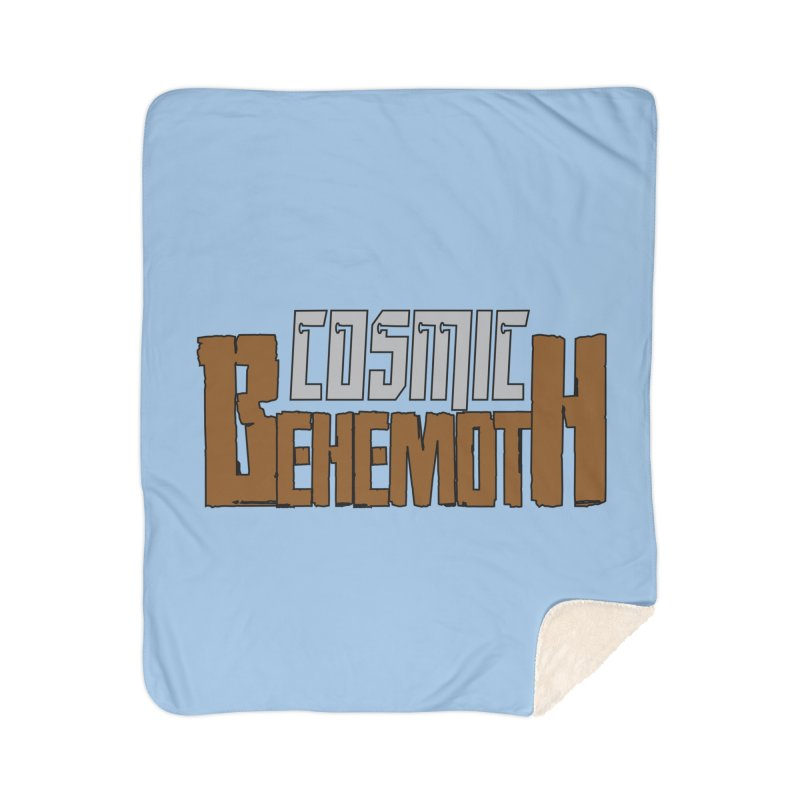 Cosmic Behemoth Logo Home Sherpa Blanket Blanket by The Official Bustillo Publishing Shop