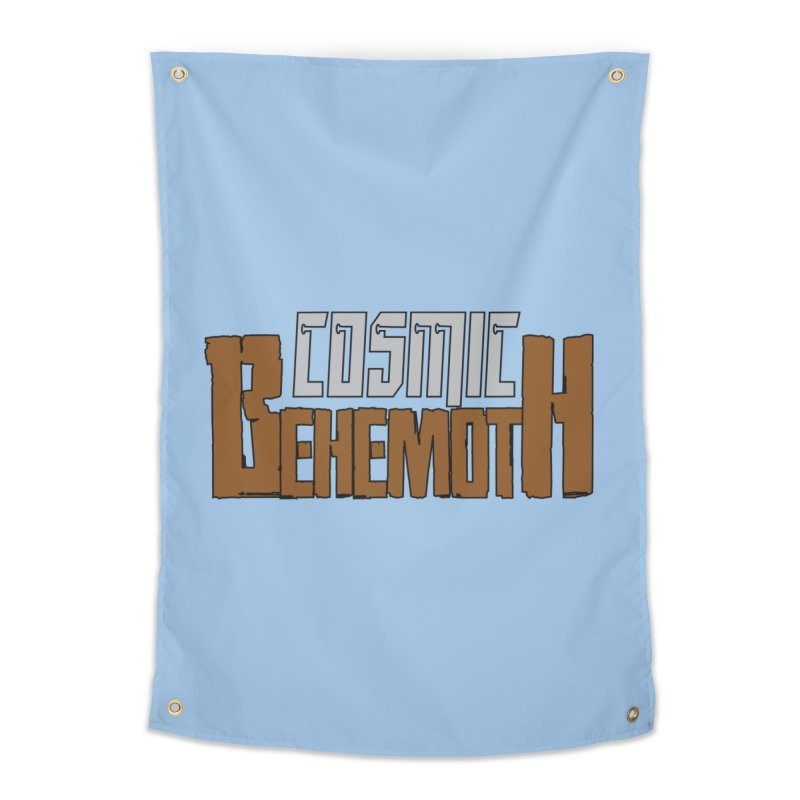 Cosmic Behemoth Logo Home Tapestry by The Official Bustillo Publishing Shop