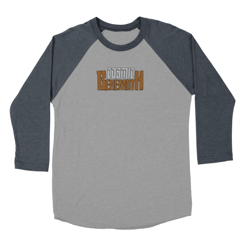 Cosmic Behemoth Logo Men's Baseball Triblend Longsleeve T-Shirt by The Official Bustillo Publishing Shop