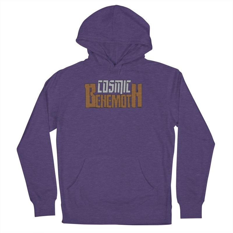 Cosmic Behemoth Logo Men's French Terry Pullover Hoody by The Official Bustillo Publishing Shop