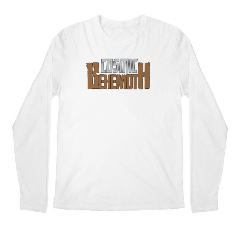 Cosmic Behemoth Logo Men's Regular Longsleeve T-Shirt by The Official Bustillo Publishing Shop