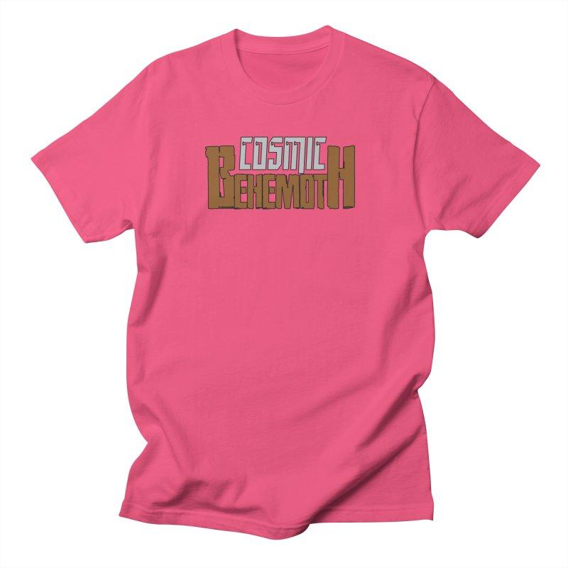 Cosmic Behemoth Logo Men's Regular T-Shirt by The Official Bustillo Publishing Shop
