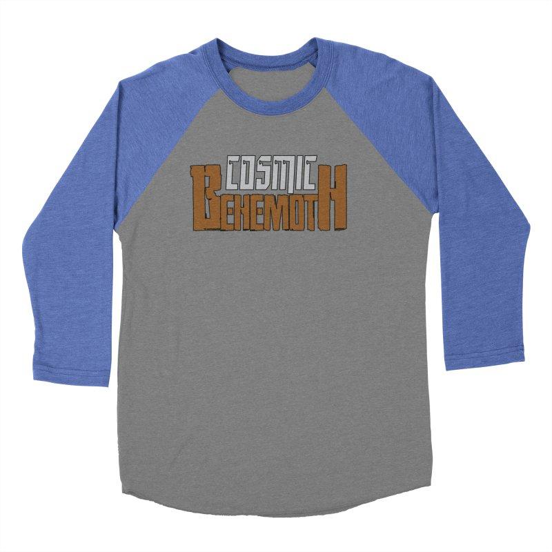 Cosmic Behemoth Logo Women's Baseball Triblend Longsleeve T-Shirt by The Official Bustillo Publishing Shop