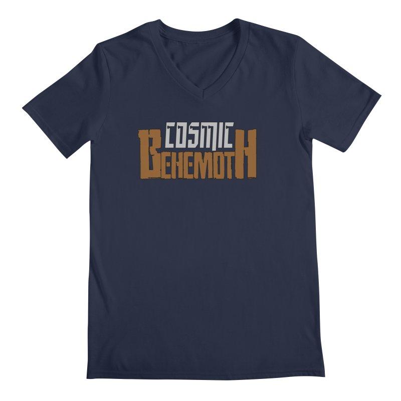 Cosmic Behemoth Logo Men's Regular V-Neck by The Official Bustillo Publishing Shop