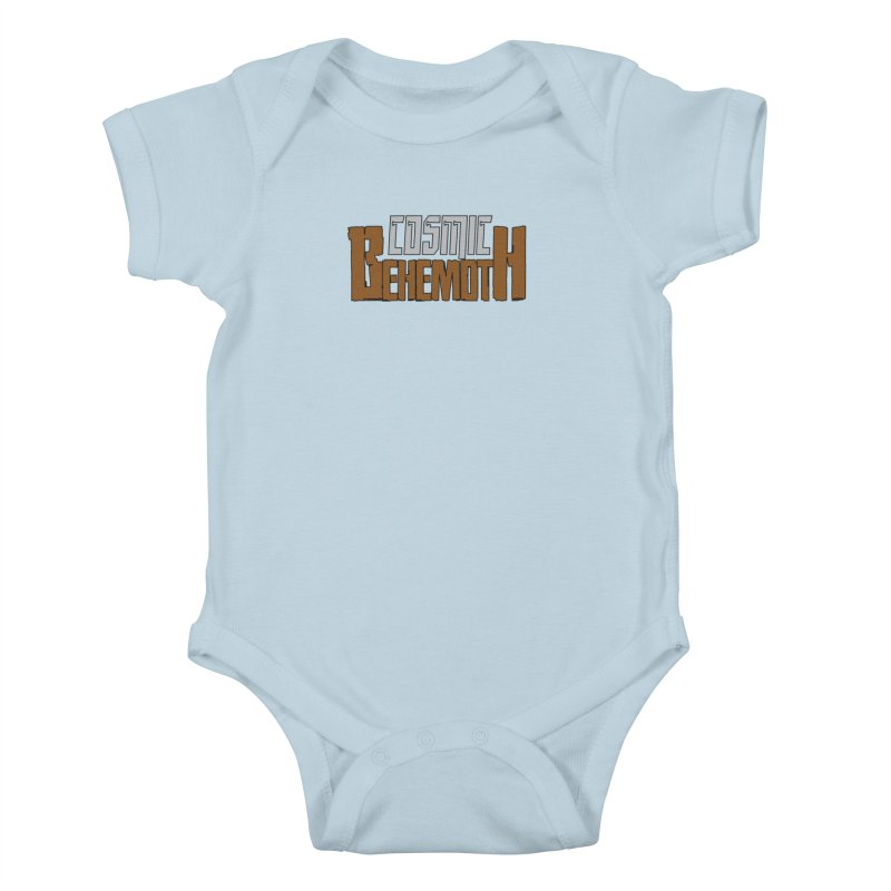 Cosmic Behemoth Logo Kids Baby Bodysuit by The Official Bustillo Publishing Shop