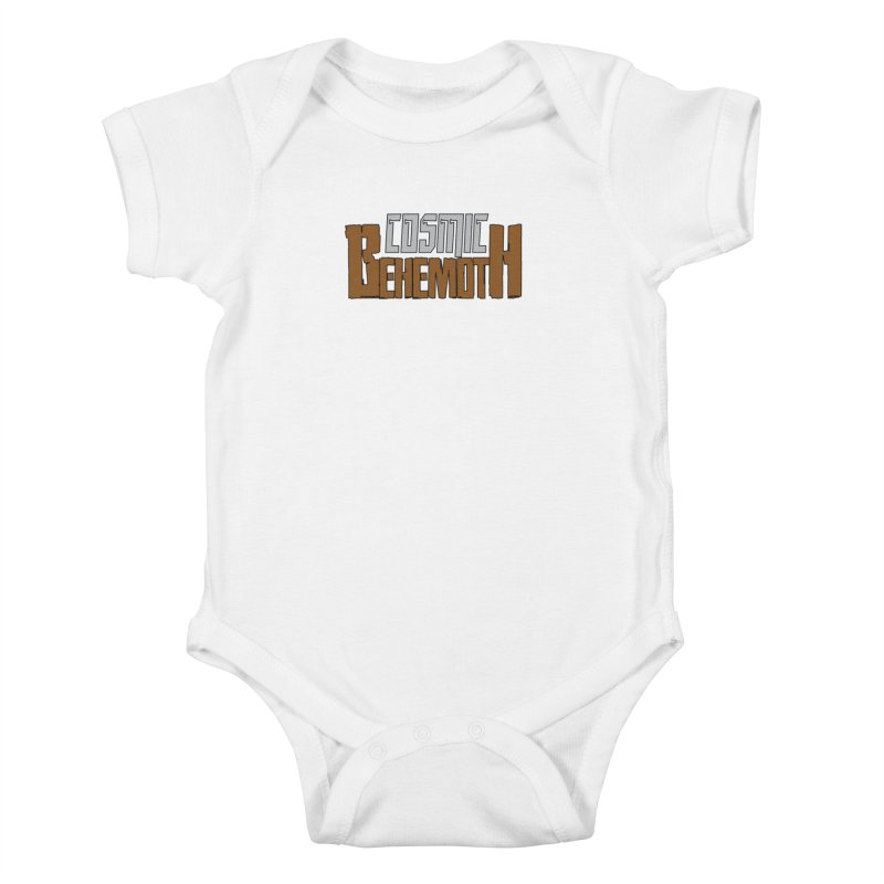 Cosmic Behemoth Logo Kids Baby Bodysuit by The Official Bustillo Publishing Shop