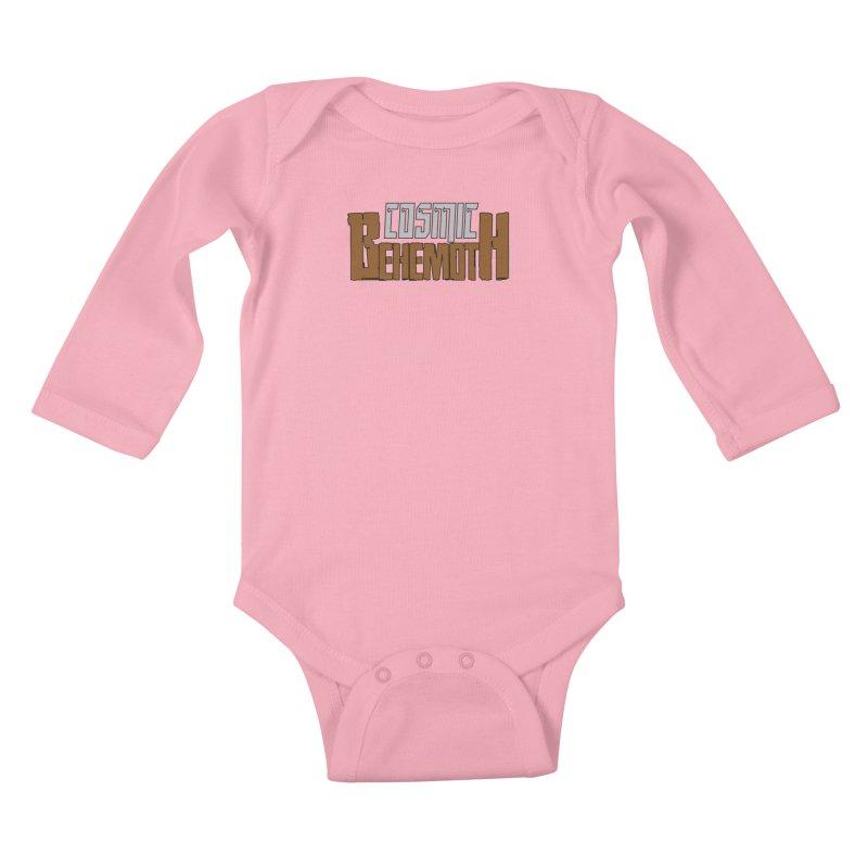 Cosmic Behemoth Logo Kids Baby Longsleeve Bodysuit by The Official Bustillo Publishing Shop