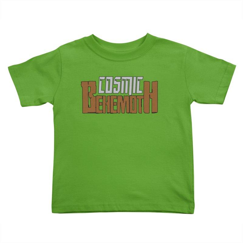 Cosmic Behemoth Logo Kids Toddler T-Shirt by The Official Bustillo Publishing Shop