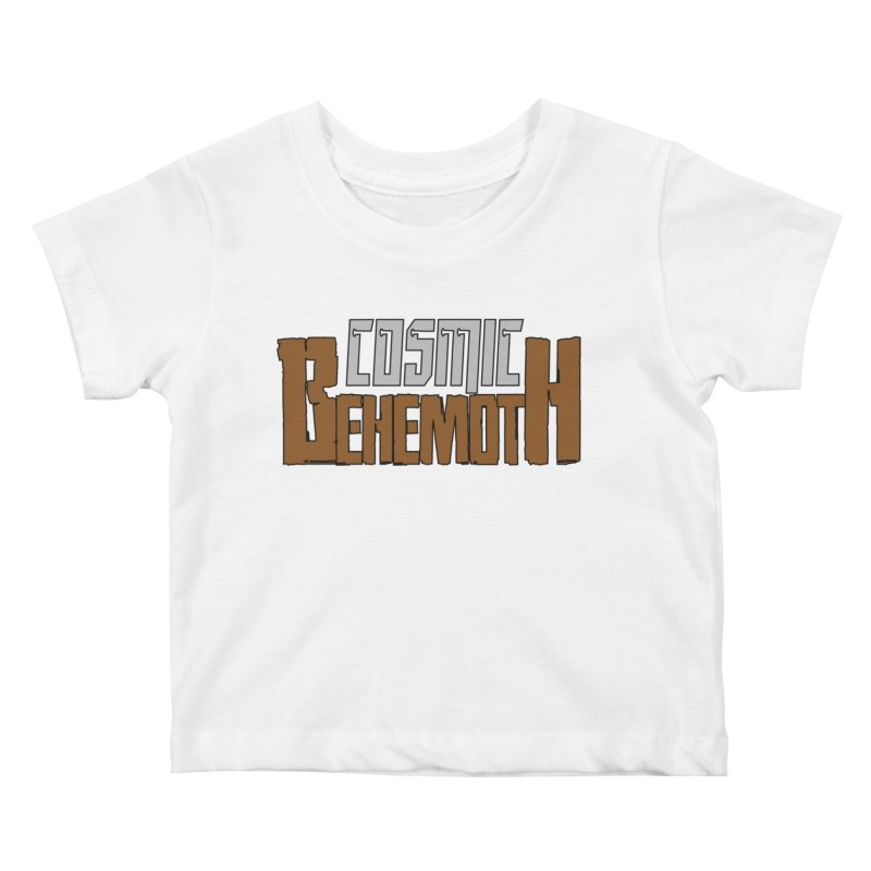 Cosmic Behemoth Logo Kids Baby T-Shirt by The Official Bustillo Publishing Shop
