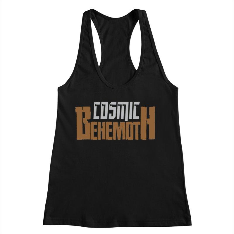 Cosmic Behemoth Logo Women's Racerback Tank by The Official Bustillo Publishing Shop
