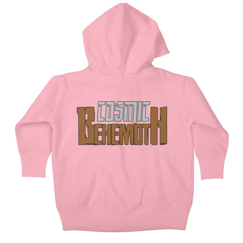 Cosmic Behemoth Logo Kids Baby Zip-Up Hoody by The Official Bustillo Publishing Shop