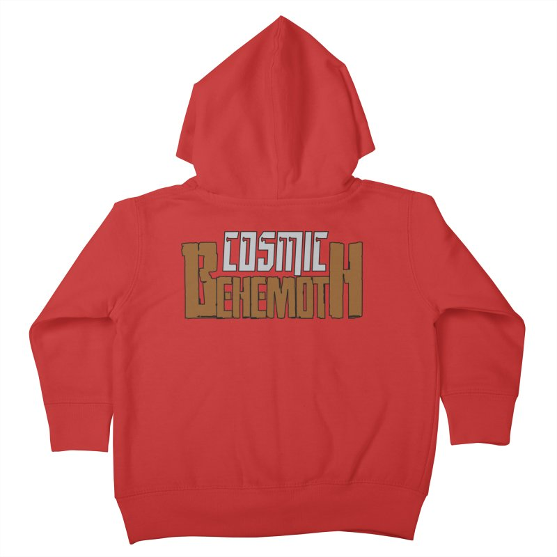 Cosmic Behemoth Logo Kids Toddler Zip-Up Hoody by The Official Bustillo Publishing Shop