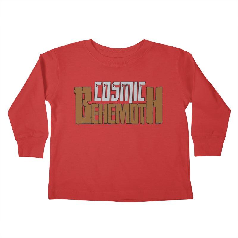 Cosmic Behemoth Logo Kids Toddler Longsleeve T-Shirt by The Official Bustillo Publishing Shop