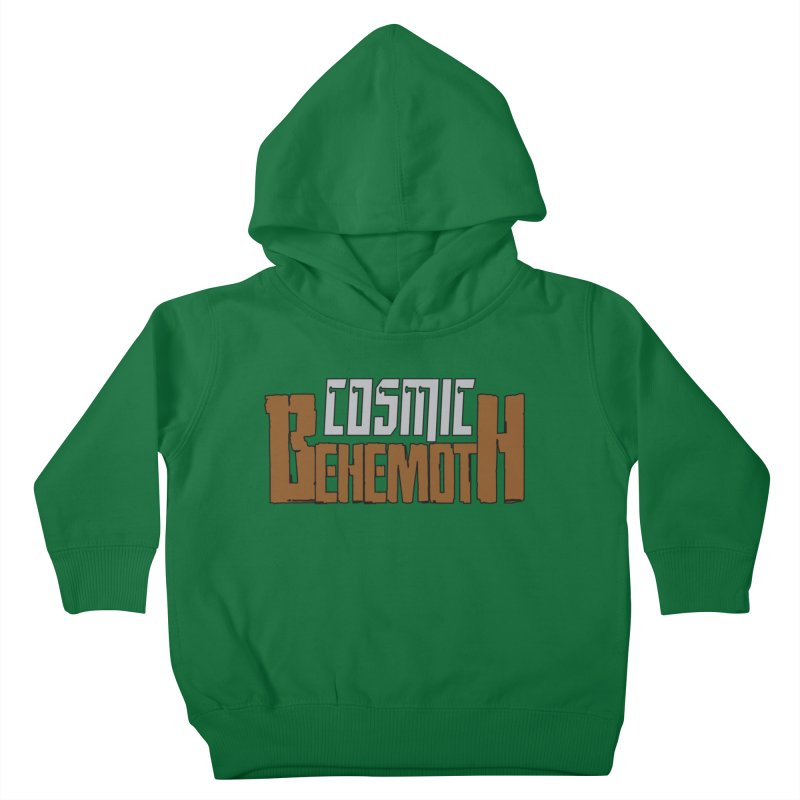 Cosmic Behemoth Logo Kids Toddler Pullover Hoody by The Official Bustillo Publishing Shop
