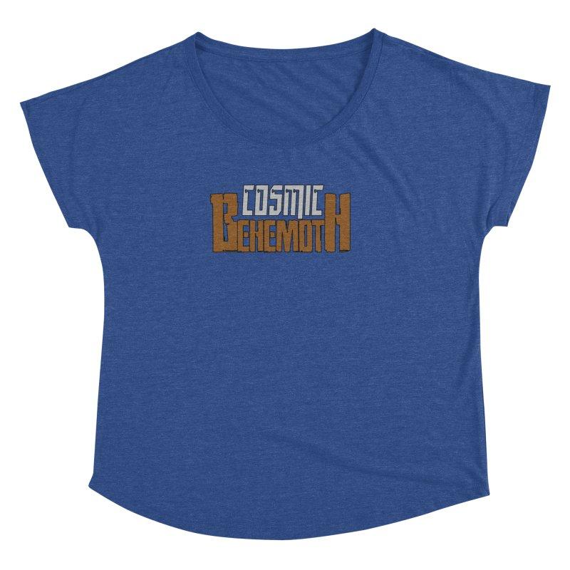 Cosmic Behemoth Logo Women's Dolman Scoop Neck by The Official Bustillo Publishing Shop