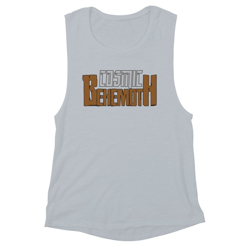 Cosmic Behemoth Logo Women's Muscle Tank by The Official Bustillo Publishing Shop