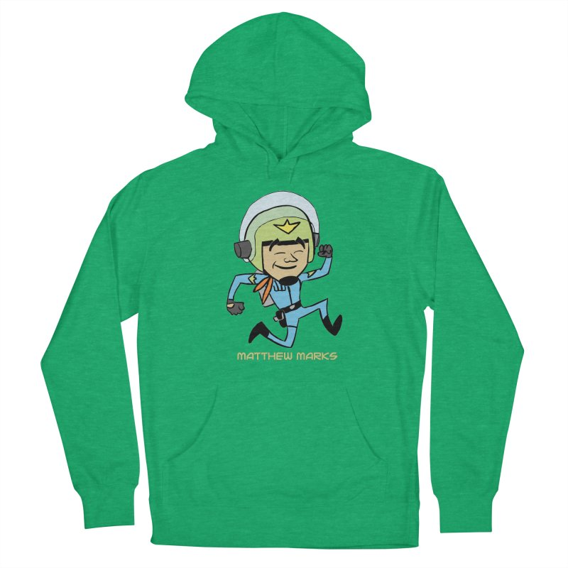 Chibi Matthew Marks Men's French Terry Pullover Hoody by The Official Bustillo Publishing Shop