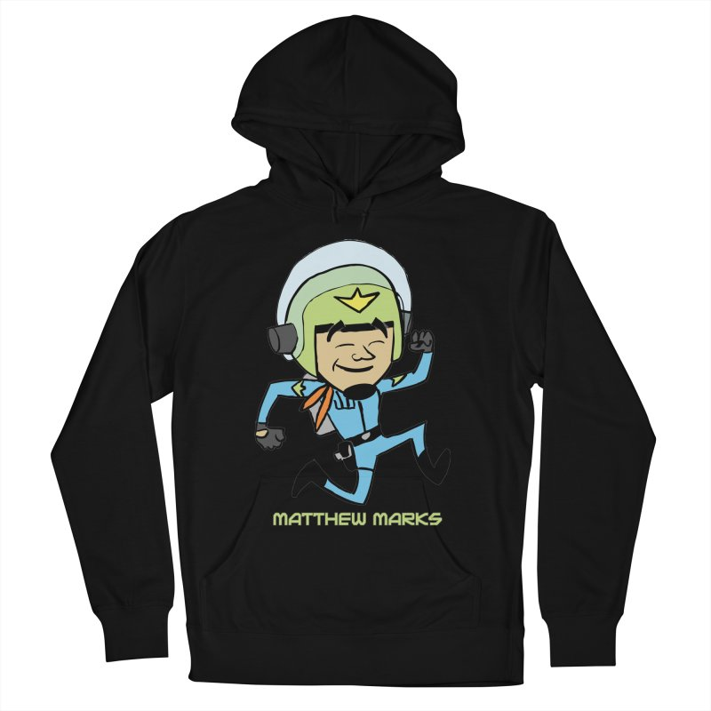 Chibi Matthew Marks Women's French Terry Pullover Hoody by The Official Bustillo Publishing Shop