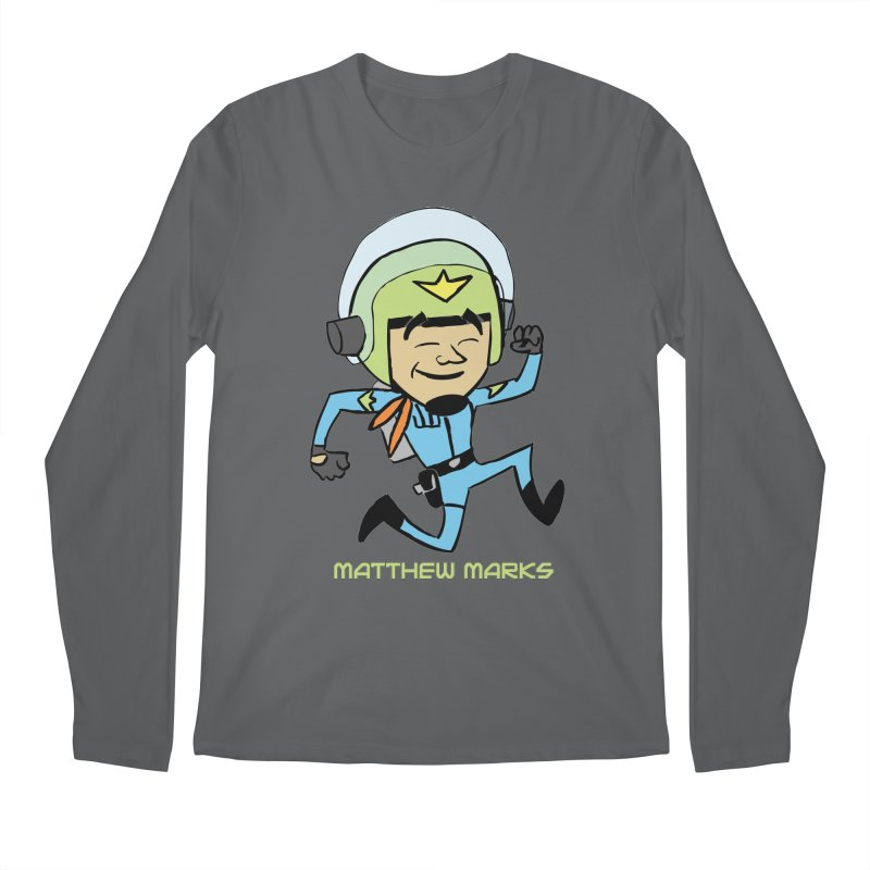 Chibi Matthew Marks Men's Regular Longsleeve T-Shirt by The Official Bustillo Publishing Shop
