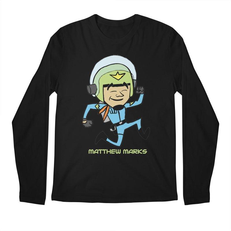 Chibi Matthew Marks Men's Regular Longsleeve T-Shirt by The Official Bustillo Publishing Shop