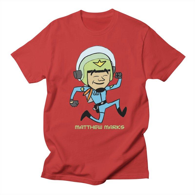 Chibi Matthew Marks Men's Regular T-Shirt by The Official Bustillo Publishing Shop