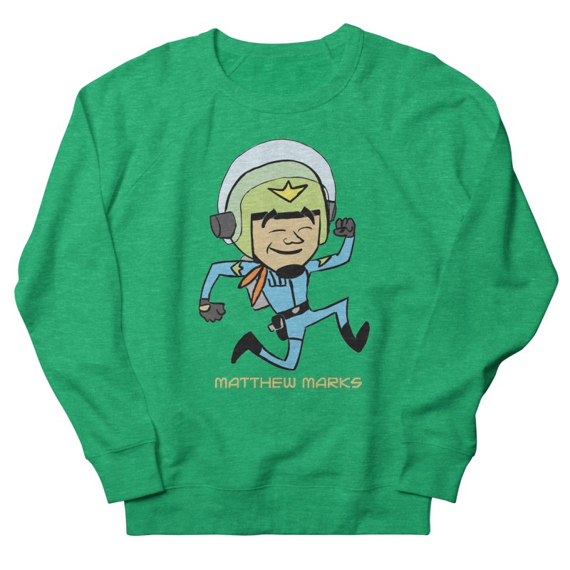 Chibi Matthew Marks Women's French Terry Sweatshirt by The Official Bustillo Publishing Shop