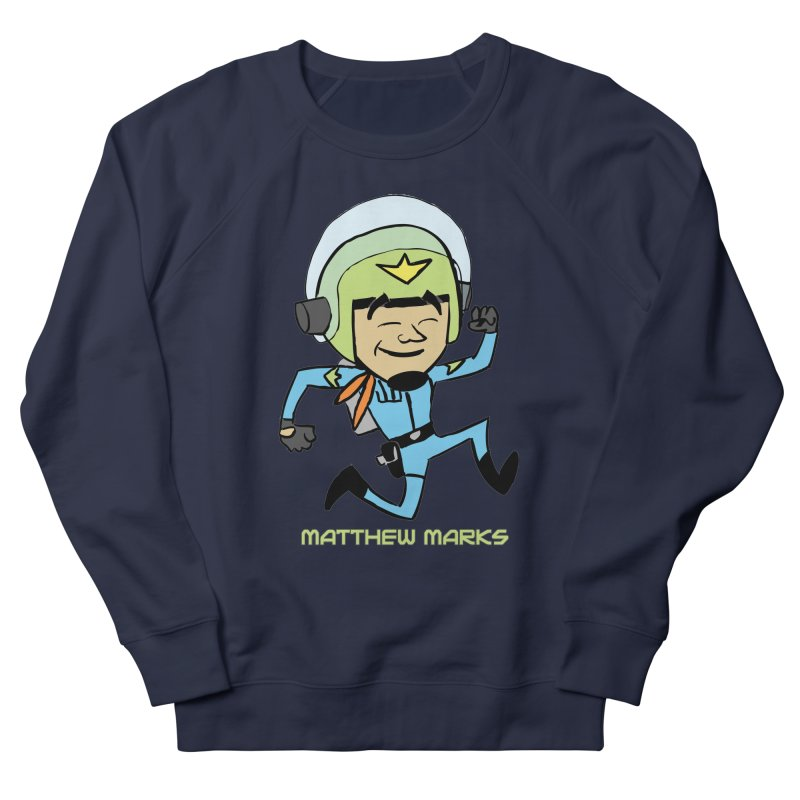 Chibi Matthew Marks Men's French Terry Sweatshirt by The Official Bustillo Publishing Shop