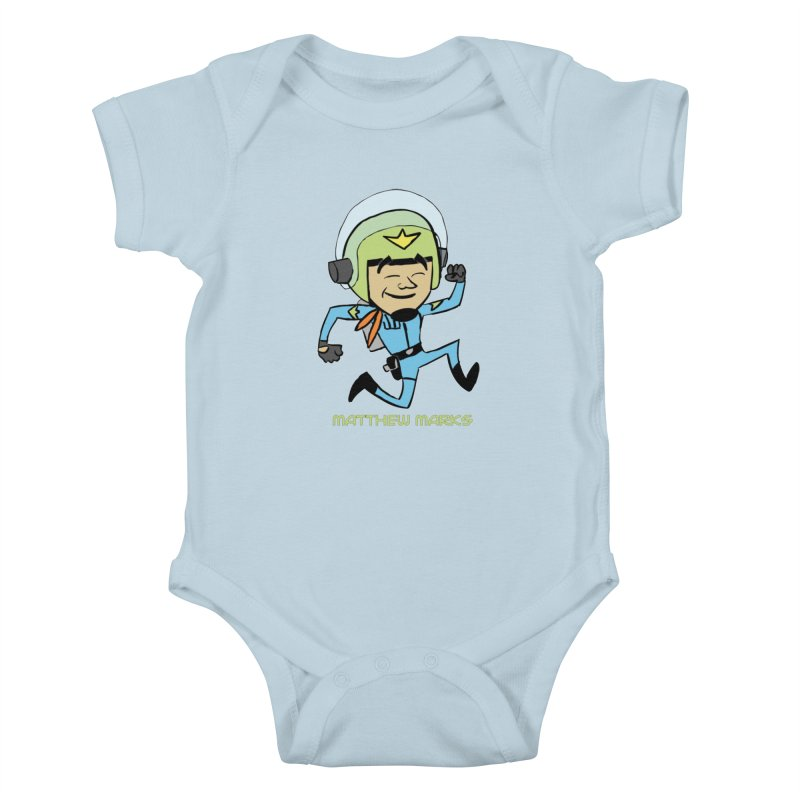 Chibi Matthew Marks Kids Baby Bodysuit by The Official Bustillo Publishing Shop