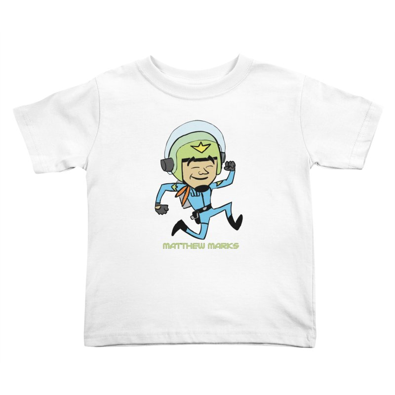 Chibi Matthew Marks Kids Toddler T-Shirt by The Official Bustillo Publishing Shop