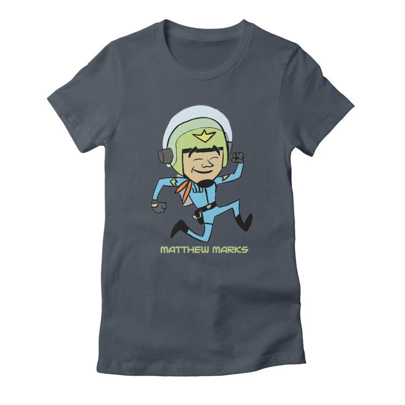 Chibi Matthew Marks Women's T-Shirt by The Official Bustillo Publishing Shop