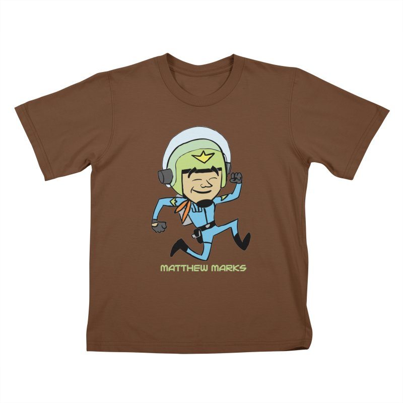 Chibi Matthew Marks Kids T-Shirt by The Official Bustillo Publishing Shop