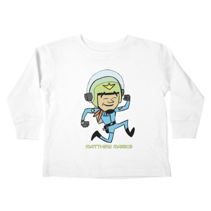 Chibi Matthew Marks Kids Toddler Longsleeve T-Shirt by The Official Bustillo Publishing Shop