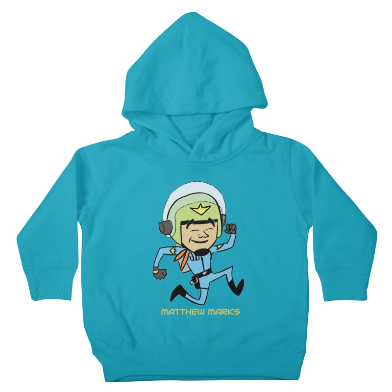Chibi Matthew Marks Kids Toddler Pullover Hoody by The Official Bustillo Publishing Shop