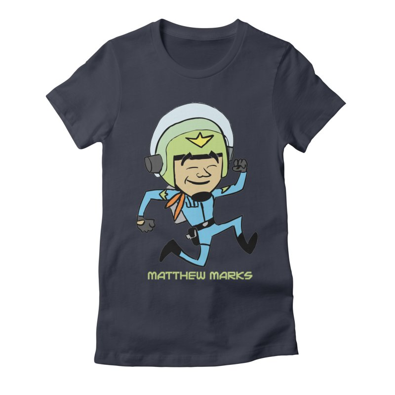 Chibi Matthew Marks Women's Fitted T-Shirt by The Official Bustillo Publishing Shop