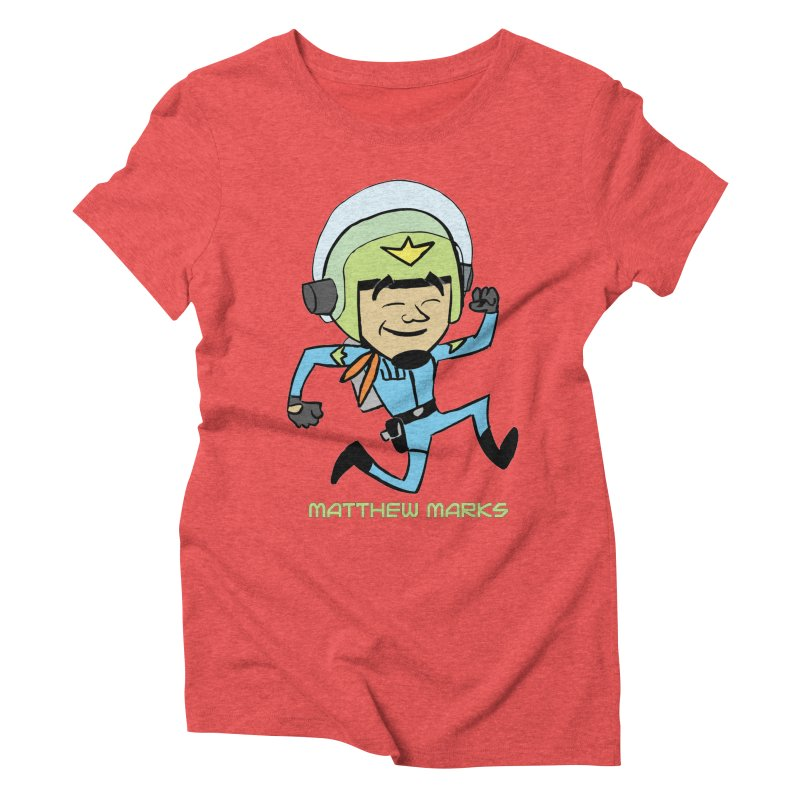 Chibi Matthew Marks Women's Triblend T-Shirt by The Official Bustillo Publishing Shop
