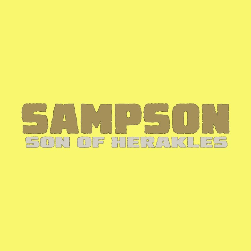 Sampson Son of Herakles Men's T-Shirt by The Official Bustillo Publishing Shop