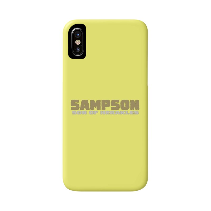 Sampson Son of Herakles Accessories Phone Case by The Official Bustillo Publishing Shop