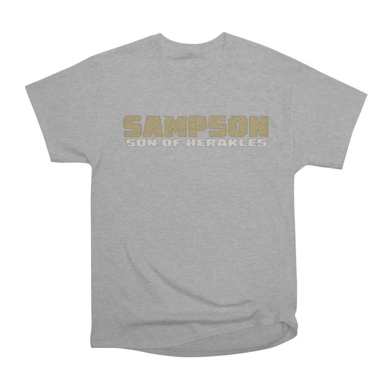 Sampson Son of Herakles Men's Heavyweight T-Shirt by The Official Bustillo Publishing Shop