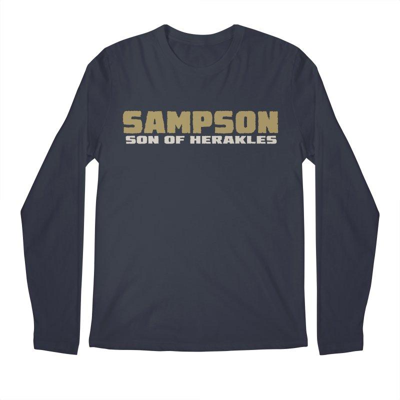 Sampson Son of Herakles Men's Regular Longsleeve T-Shirt by The Official Bustillo Publishing Shop