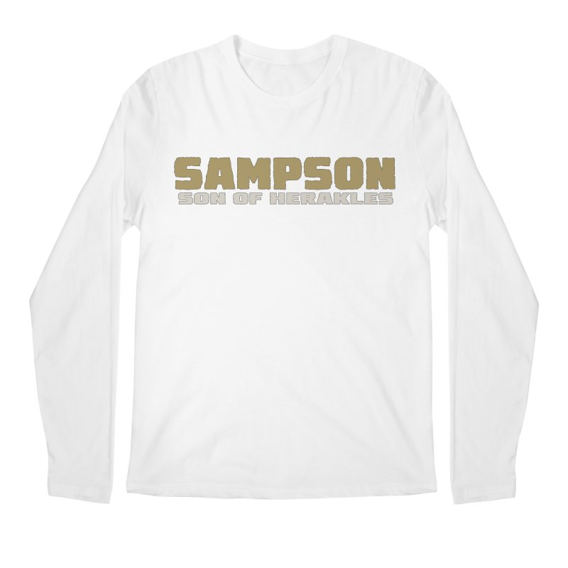 Sampson Son of Herakles Men's Regular Longsleeve T-Shirt by The Official Bustillo Publishing Shop