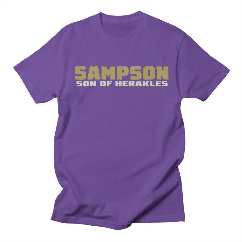 Sampson Son of Herakles Men's Regular T-Shirt by The Official Bustillo Publishing Shop